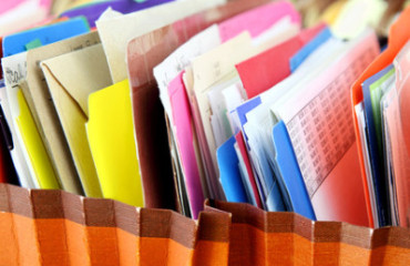 organizing your paperwork