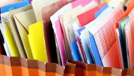 organizing your paperwork