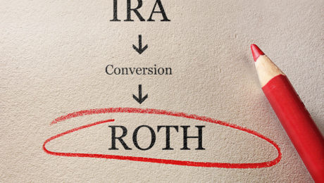 Traditional IRA to Roth IRA conversion